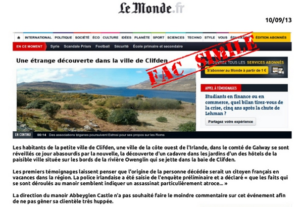 Fac similié journal lemonde.fr